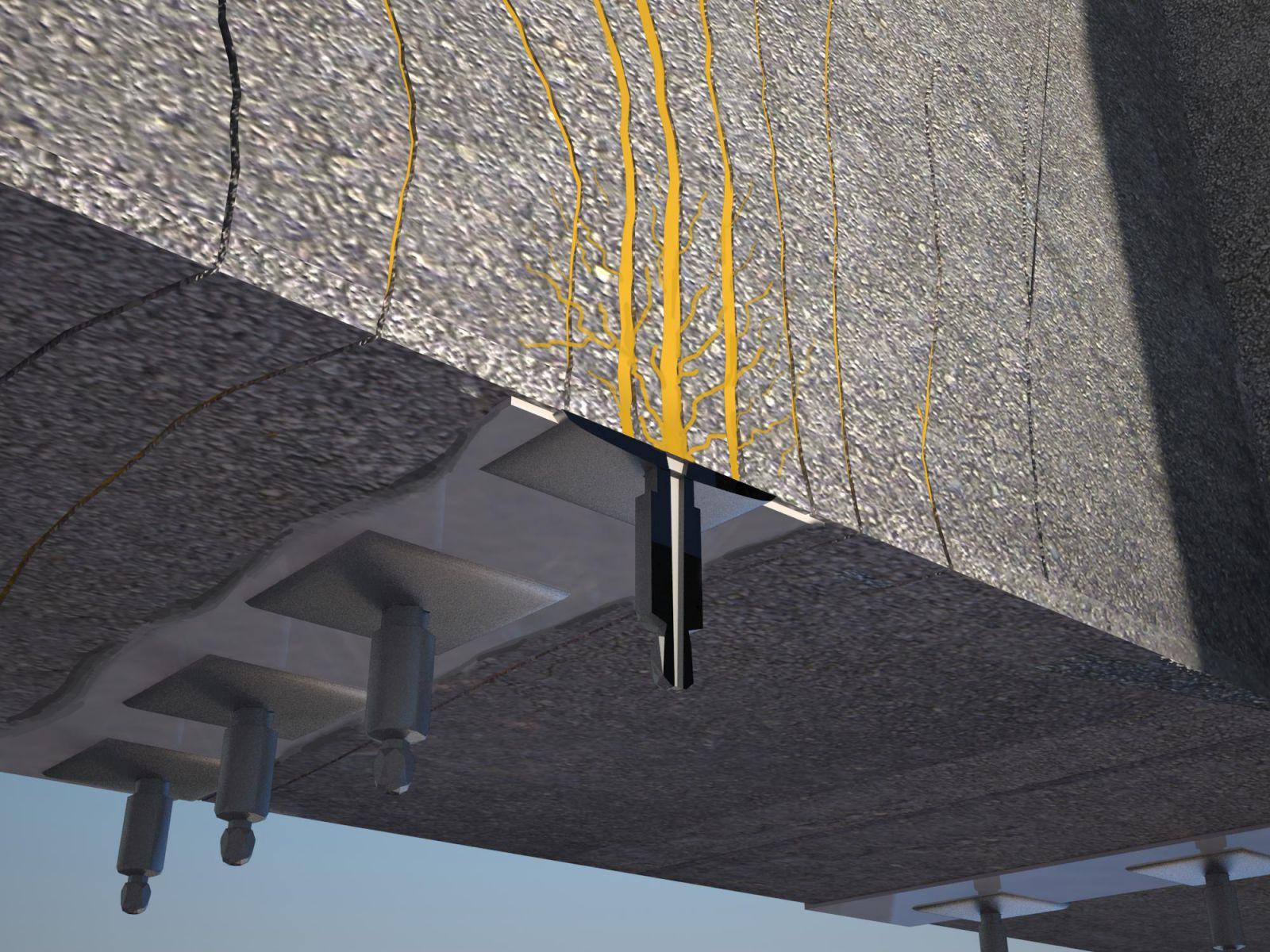 Инъектирование трещин в бетоне